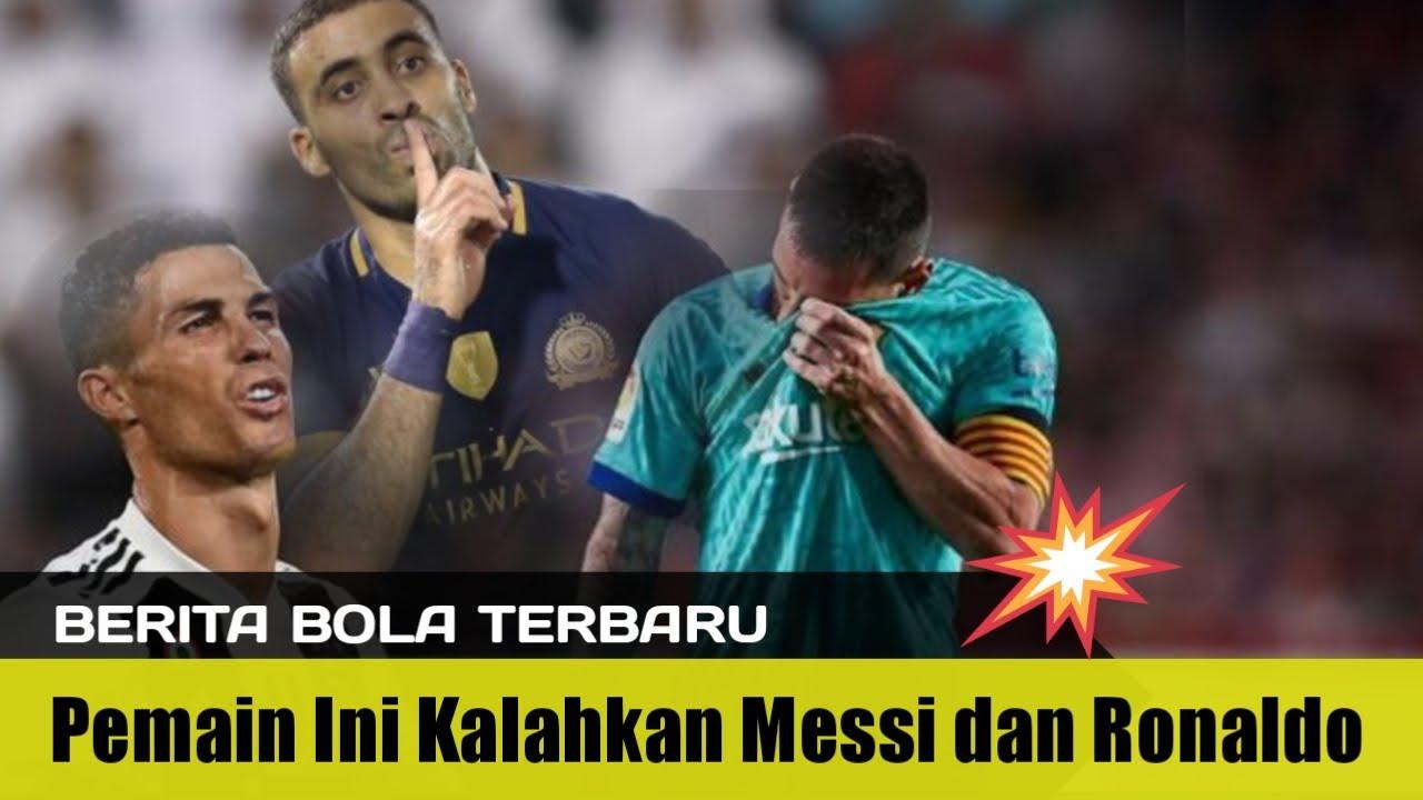 Berita Bola Terbaru Abderrazak Hamdallah Mampu Kalahkan Messi
