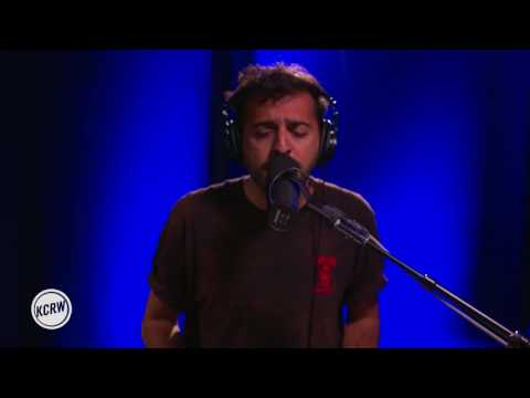 "El Guincho performing ""Bombay"" Live on KCRW"