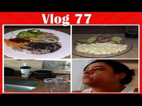 Vlog 77- Cafe da Manhã, Compras da Ceia de Natal, Comentarios, Almoço-Por Liz Frutuoso