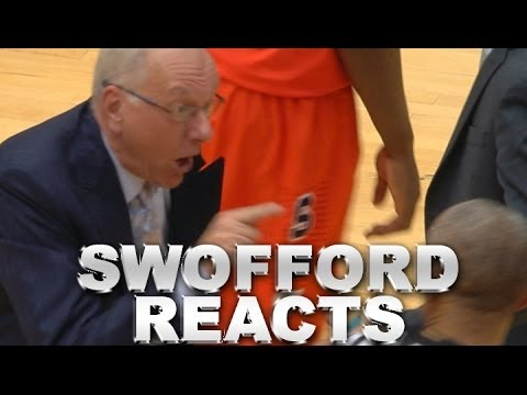 ACC Commissioner John Swofford Reacts to Jim Boeheim's Ejection