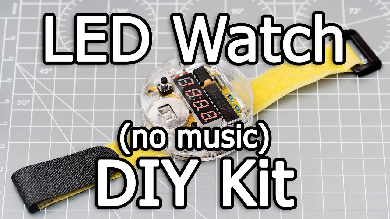how to make a digital watch