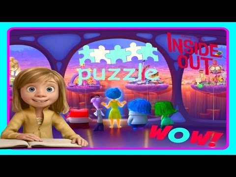 ♡ Inside Out Puzzle ♡  Disney Pixar Video Game for Baby Kids
