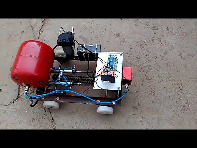 Final year projects for mechanical engineering student| pneumatic vehicle|#machine_technology