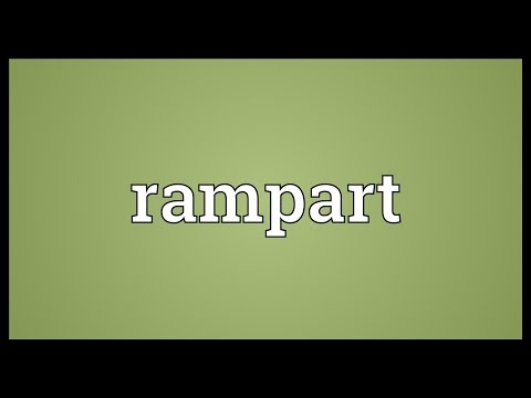 Rampart Meaning