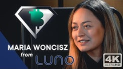 """Maria - LUNO: """"Blockchain is A ONCE in a LIFETIME OPPORTUNITY"""" Women & Emerging markets"""