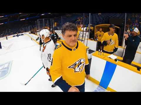 Nashville Predators Adult Hockey Skills Competition
