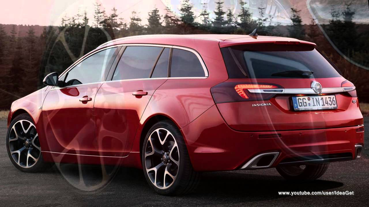 2014 Opel Insignia OPC Sports Tourer Preview