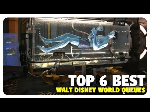 TOP 6 BEST Walt Disney World Queues | Best and Worst | 04/18/18