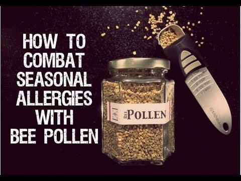 Using Bee Pollen To Combat Seasonal Allergies
