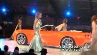 Chevrolet Camaro Convertible Concept (2008) Videos