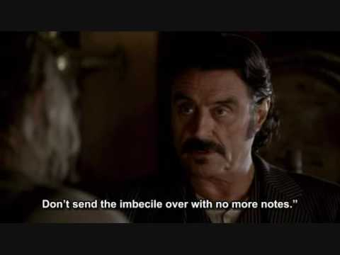 Richardson & Al Swearengen  Deadwood