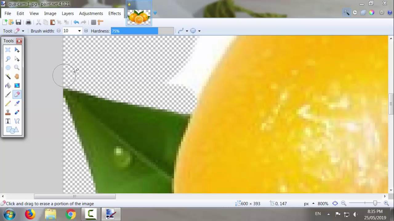 Hướng dẫn xóa phông nền và ghép ảnh bằng paint.net