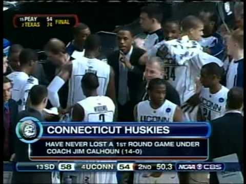 USD vs. UConn hoops, NCAA Tourney, 2008