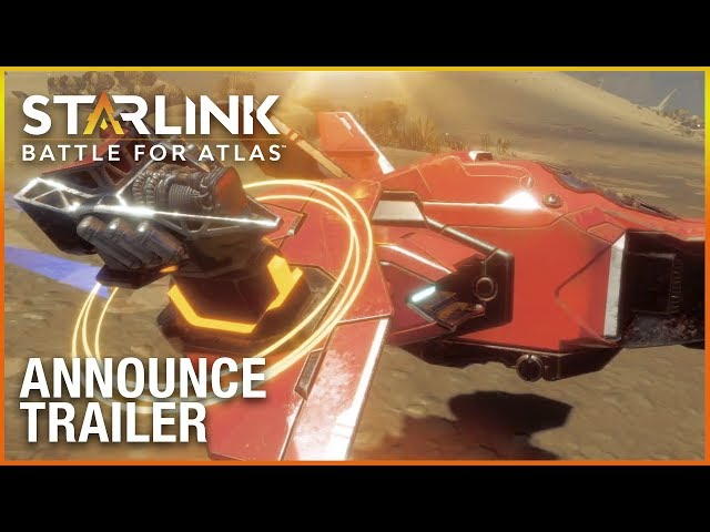 Watch the world premiere of Starlink: Battle for Atlas and travel deep into space to protect the Atlas star system from enemies!