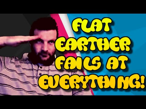 Flat Earther fails at EVERYTHING. Feat. Professor Stick thumbnail