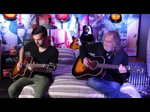 Ray Wylie Hubbard and Lucas Hubbard perform