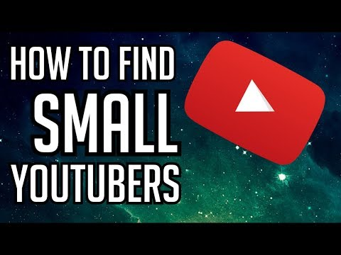 Finding Small Youtubers