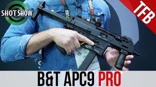 Gambar cover [SHOT Show 2019] B&T APC-9 PRO (It Takes Glock Mags!)