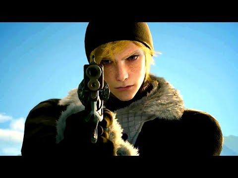 Final Fantasy XV: Episode Prompto All Cutscenes (Game Movie) PS4 PRO 1080p HD