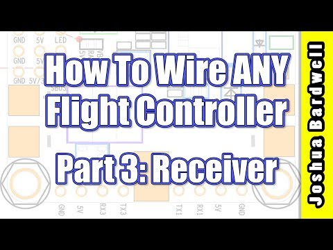 Flight Controller Wiring For Beginners - PART 3 - Receiver