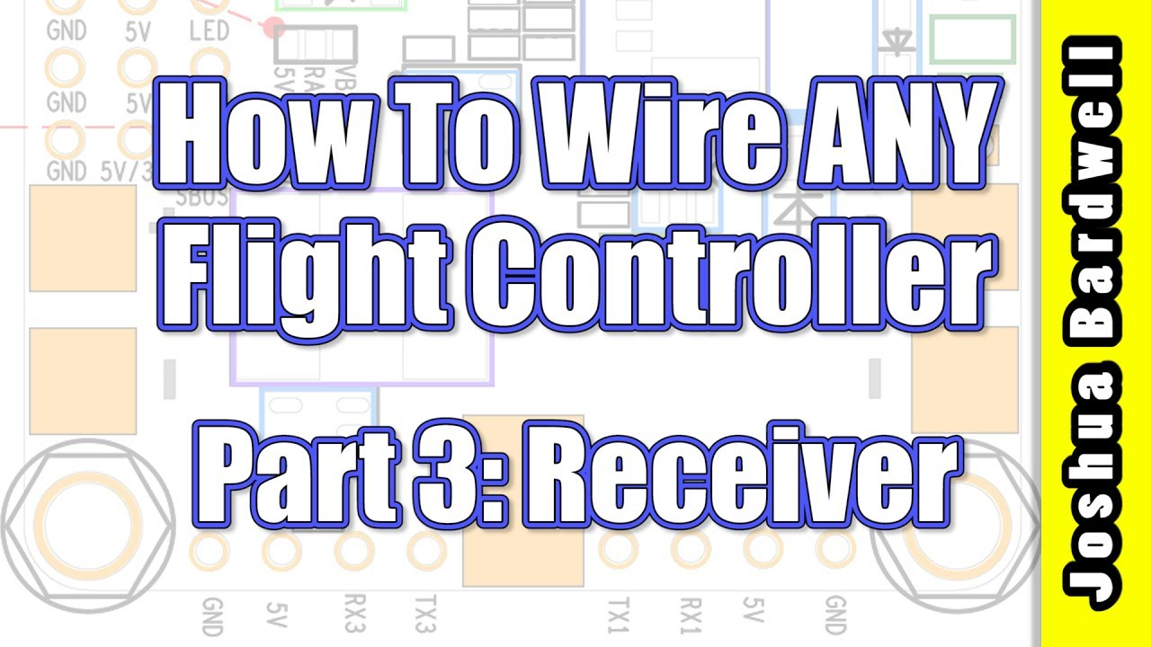 Flight Controller Wiring For Beginners Part 3 Receiver Youtube Quadrotor Diagram