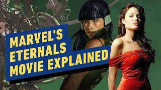 Angelina Jolie's The Eternals Marvel Movie Explained