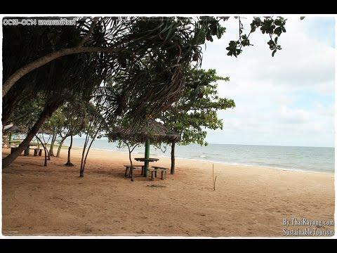เที่ยวระยอง ชายทะเล C13-C14 ที่พักระยอง:รีวิวระยะจากห้องพักไปชายหาด