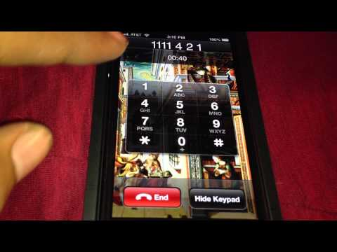 How To Set Up AT&T iPhone 5 Voicemail Password
