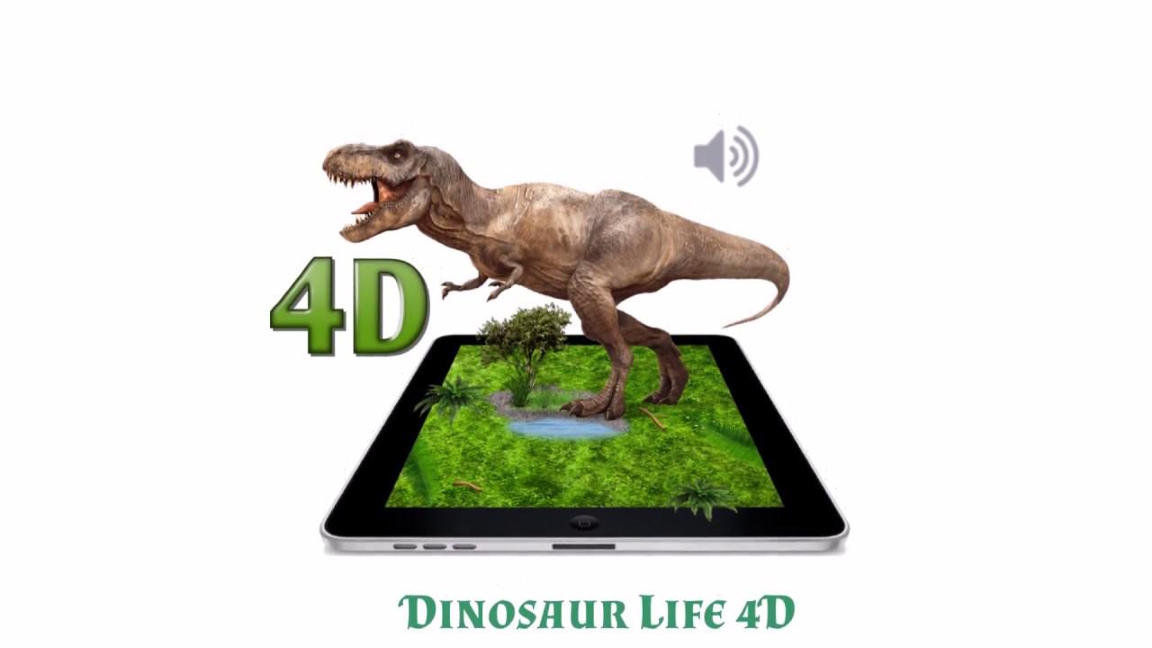 Dinosaur Life 4D App (Augmented Reality)