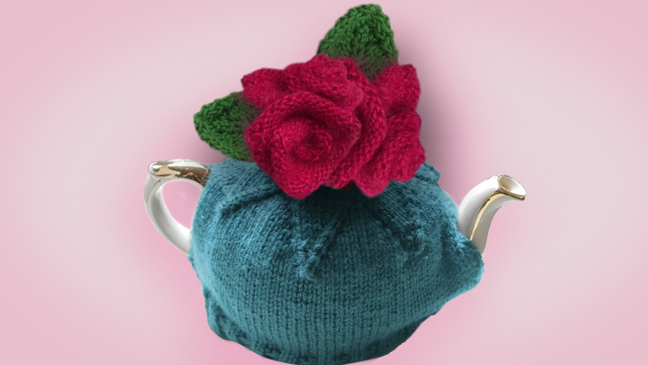 How to knit roses as featured in my knitting pattern great how to knit roses as featured in my knitting pattern great british tea cosies bankloansurffo Images