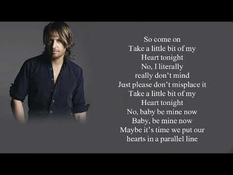 Keith Urban Parallel Line lyrics