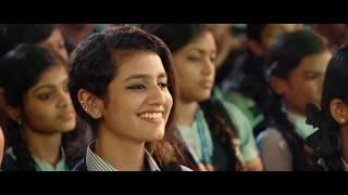 priya prakash varrier - viral Song clip new internet sensation