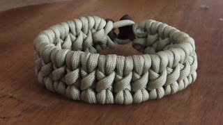 How To Make A Tyrannosaurus Rex Parachute Cord Survival Bracelet Without Buckle
