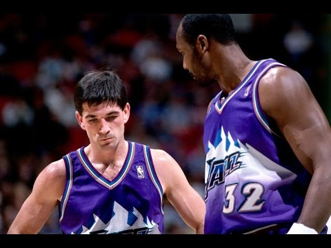 Top 10 John Stockton + Karl Malone Connections