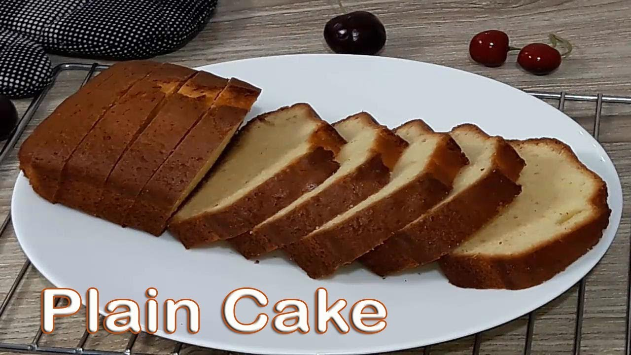 Plain Cake Recipe In Bangla