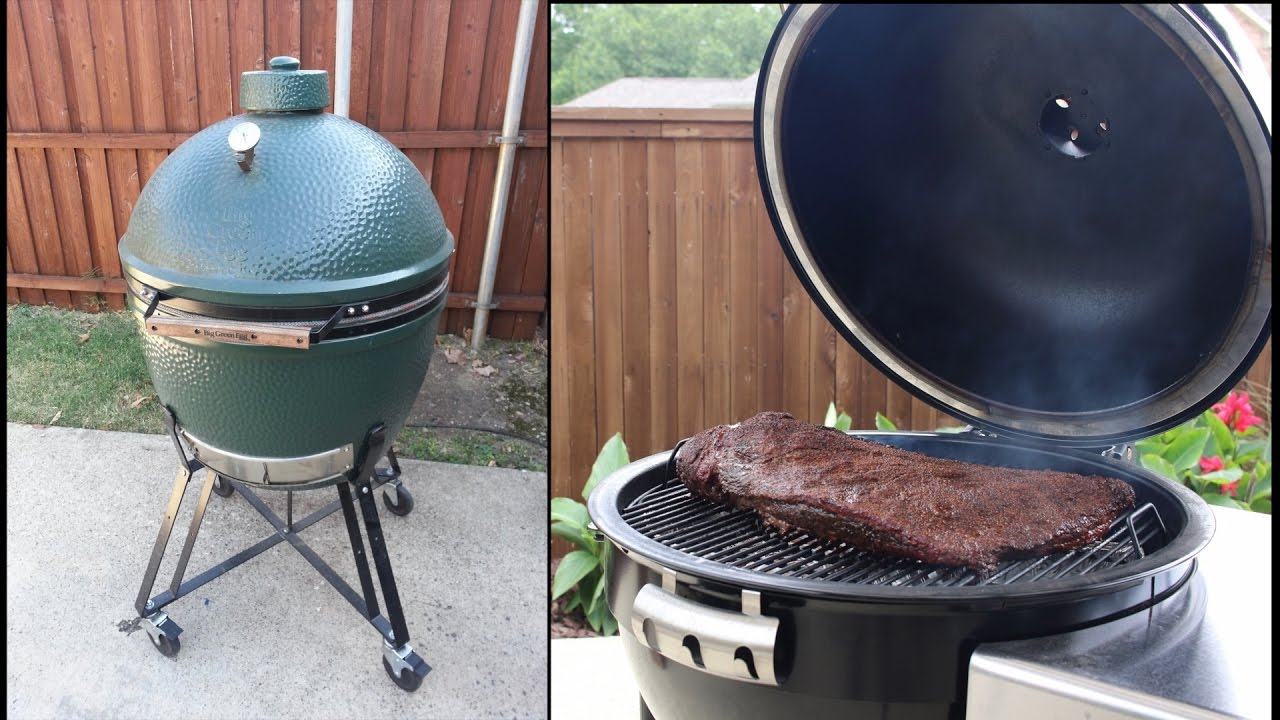 Weber Summit Charcoal Grill Vs Big Green Egg Xl Worth The Money
