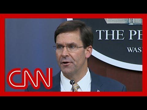 Pentagon announces troop deployment to Saudi Arabia