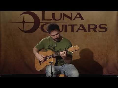 Safari Bamboo Travel Guitar by Luna Guitars