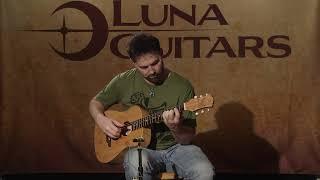 Safari Bamboo Travel Guitar by Luna Guitars