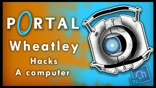 Portal 2: Hacking a computer - Animated | Wheatley (Adobe Character Animator)