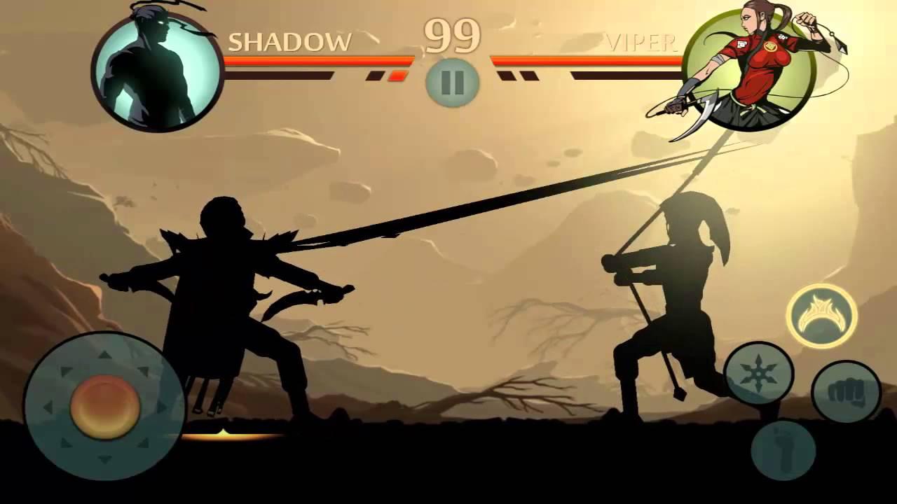 shadow fight возвращение с мц