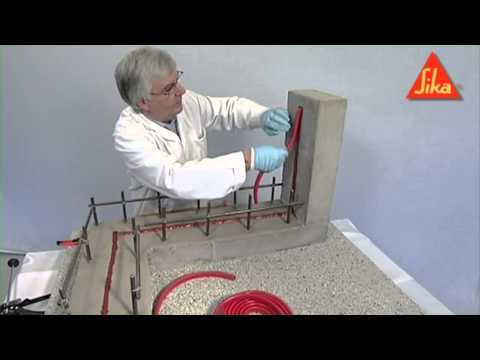 SikaSwell Waterstop Installation Demo   Sika Limited