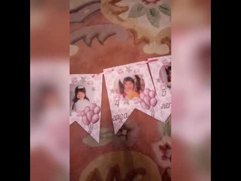 Флажки с фото на 18 летие