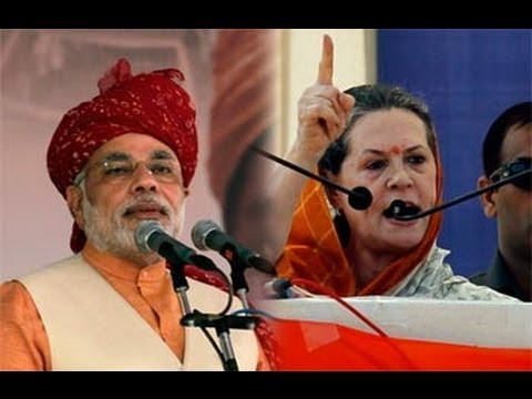 Narendra Modi vs Sonia Gandhi: Round 3