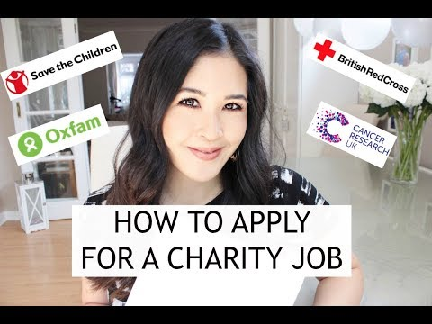 How to SUCCESSFULLY apply for a CHARITY JOB | Sam Loves