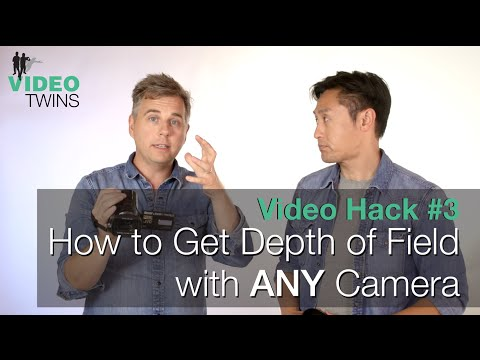 Video Hack #3 - How to Get Depth of Field With ANY Camera
