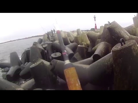 Экстремальная морская рыбалка. Калининград. Балтийск. Ловля салаки.