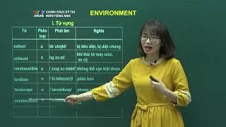 Tiếng Anh | Số 1: Environment | Chinh phục kỳ thi 2018 | VTV7
