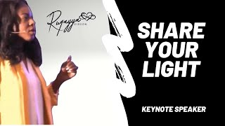 Share Your Light #DoItForDamani -Keynote About Purpose After Loss