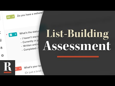 How to Create a List-Building Assessment with Typeform